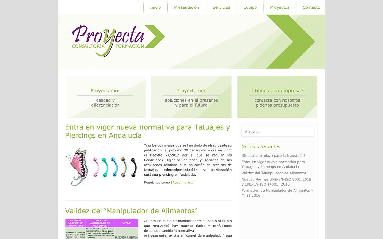 Web Proyecta (Consultoría y formación)