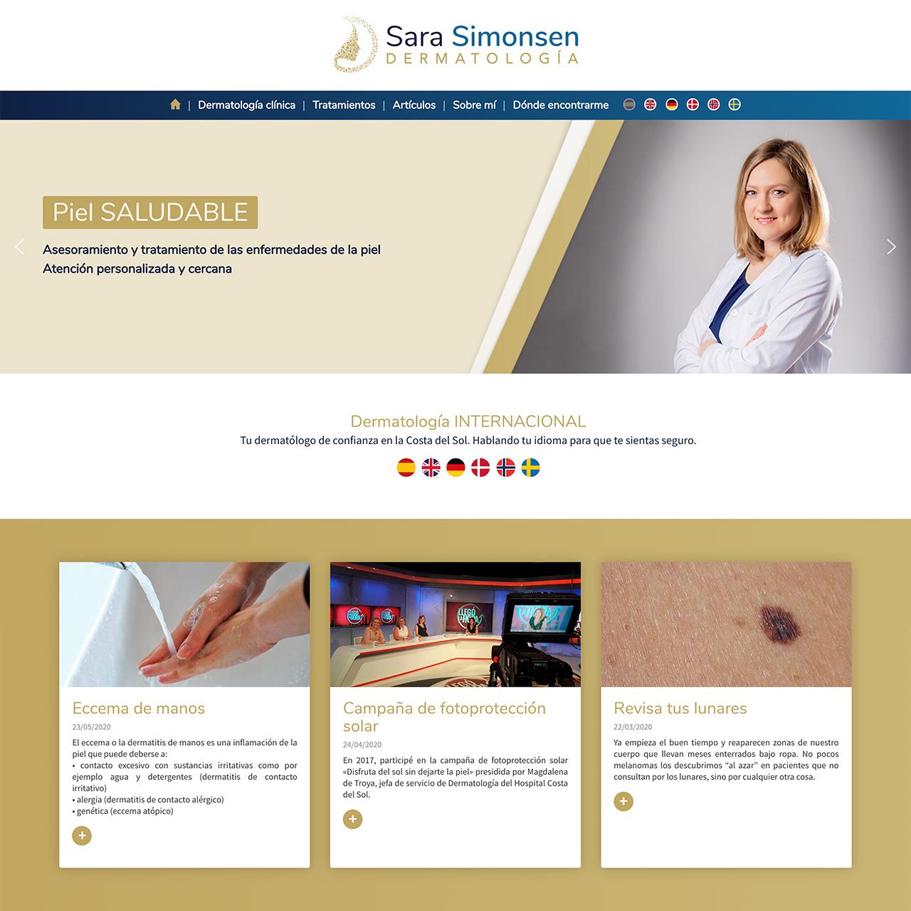 Sara Simonsen Dermatología